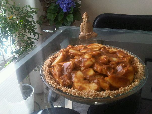 Raw Vegan Apple Pie